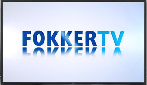 Narrowcasting bij Fokker: FokkerTV