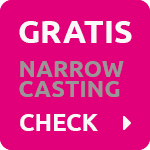 Gratis Narrowcasting Check
