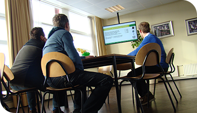 Interne communicatie via narrowcasting