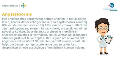 Thuisarts.nl informatie via WachtkamerTV