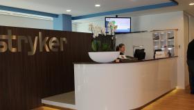 Narrowcasting bij Stryker European Headquarters