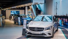 Narrowcasting bij Mercedes-Benz