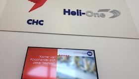 Narrowcasting bij CHC Heli-One Netherlands B.V.