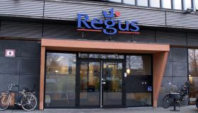 Narrowcasting bij Regus