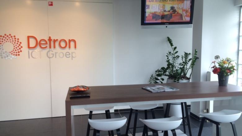 Narrowcasting bij Detron ICT Groep