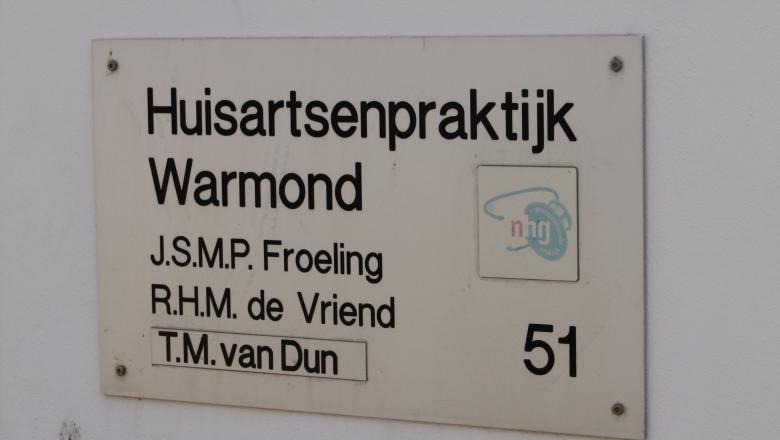 Narrowcasting bij Huisartsenpraktijk Warmond