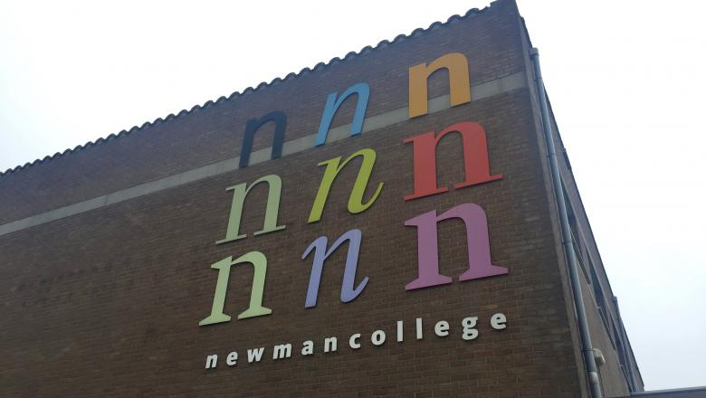 Narrowcasting bij het Newmancollege