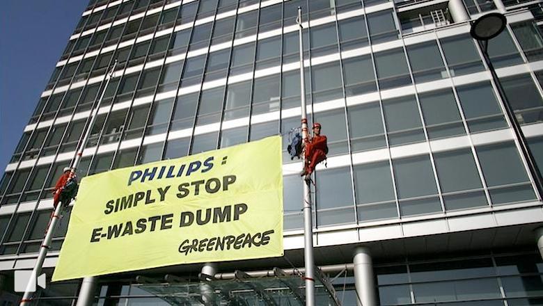 Narrowcasting bij Greenpeace