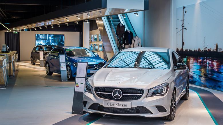 Mercedes Benz Pop Up Store Den Haag Merit Media