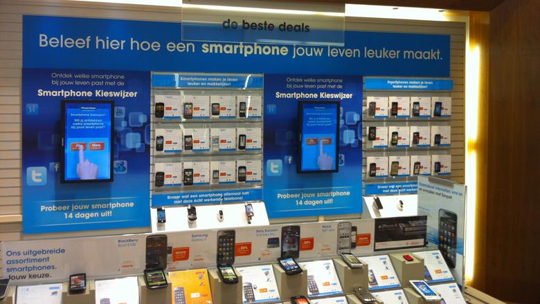 Narrowcasting bij The Phone House