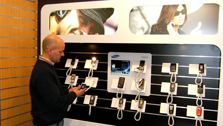 Narrowcasting bij Samsung